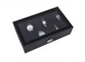 Ce que je pense du Songmics Présentoir Coffret Boîte à montre 12 montres